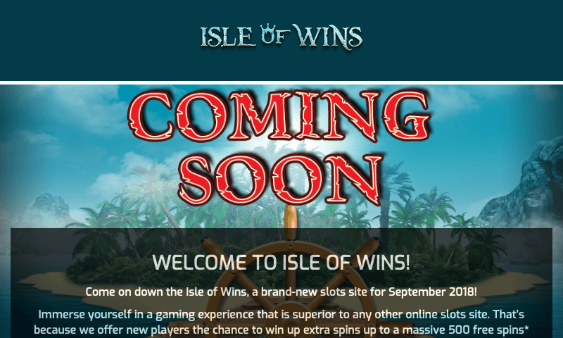 Isle of Wins on tablet
