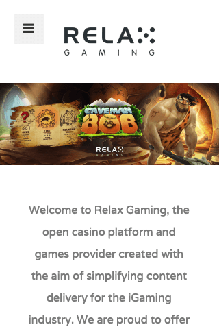 Relax Gaming Mobile Image