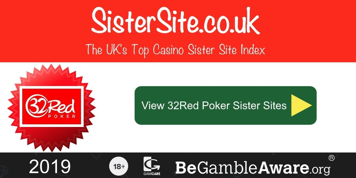 32Red Poker Sister Sites