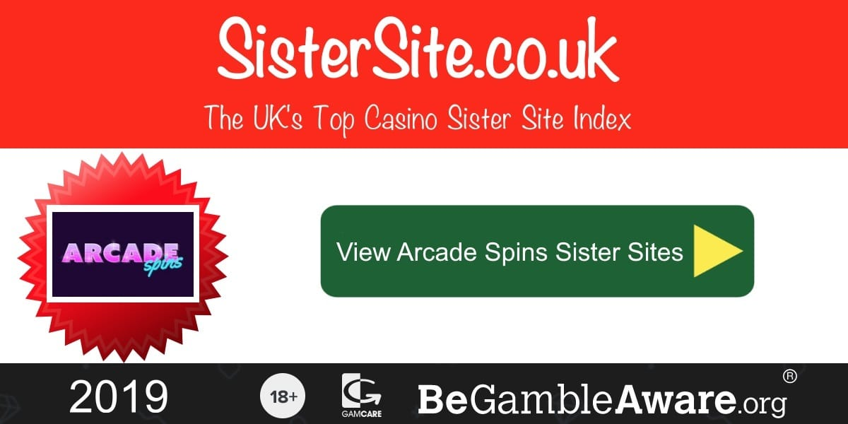 Arcade Spins Sister Sites