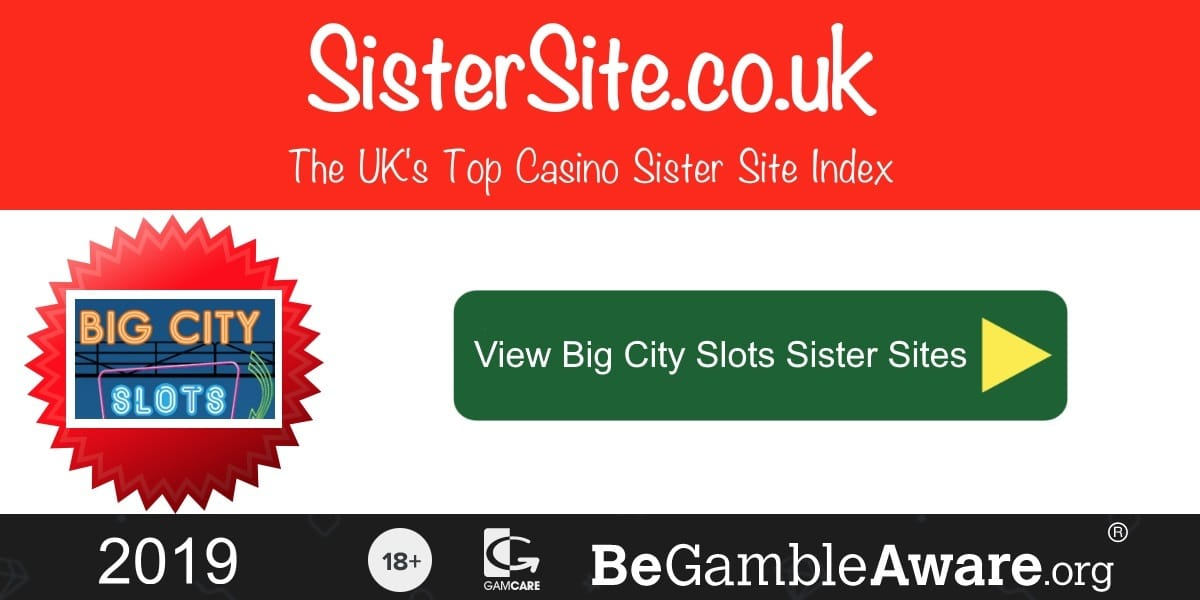 Big City Slots Sister Sites
