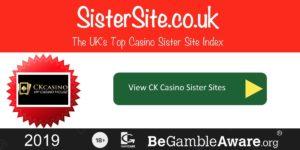 Ck Casino sister sites