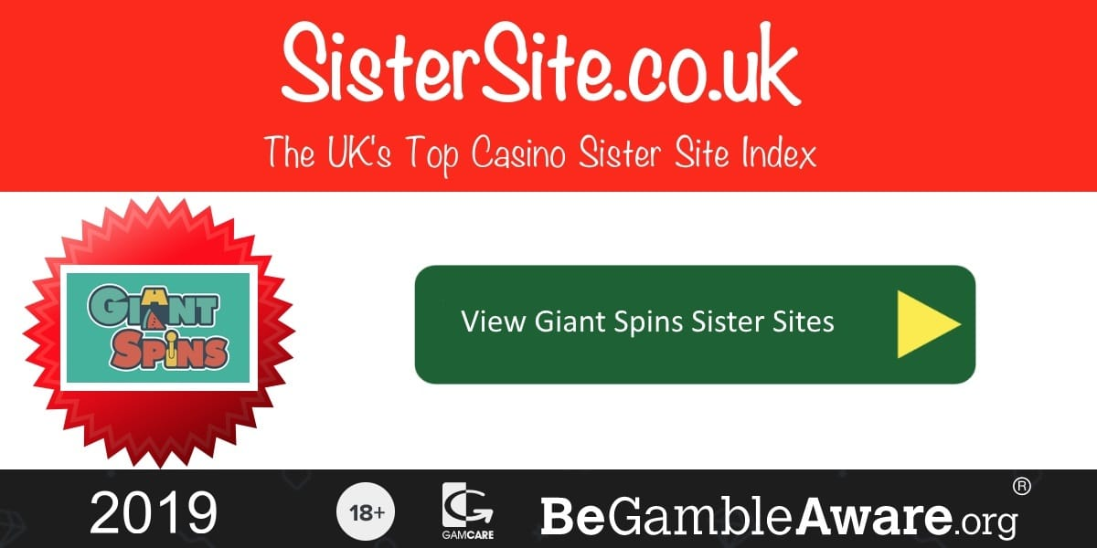 Giant Spins Sister Sites