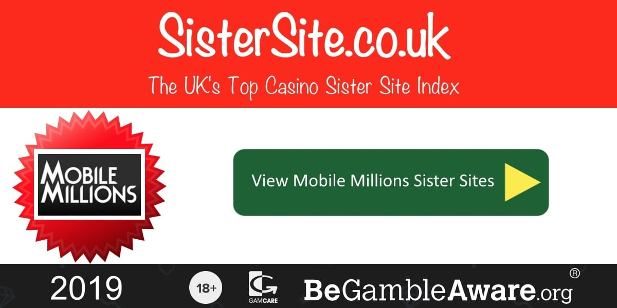 Mobile Millions Sister Sites