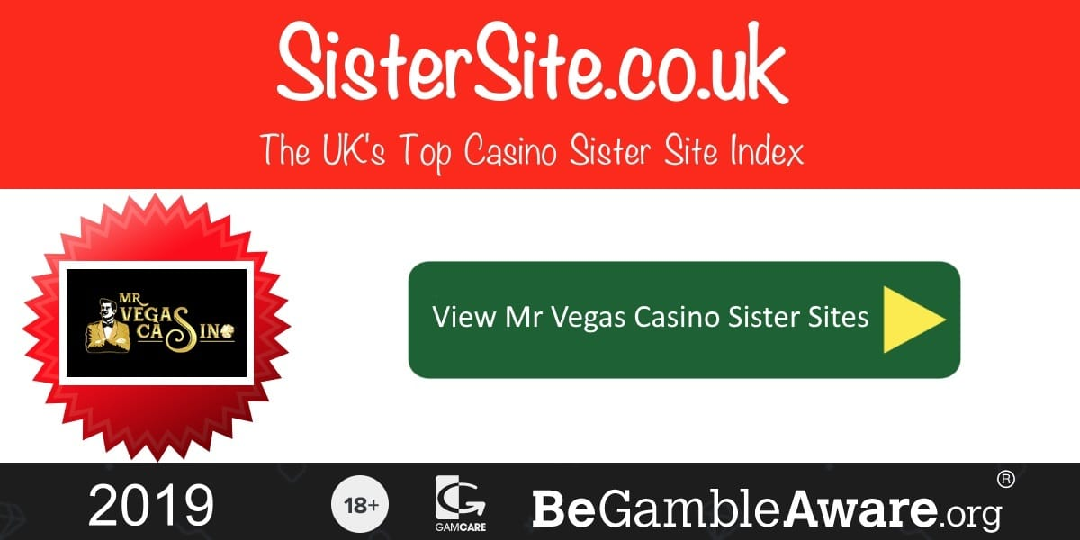 Mr Vegas Casino Sister Sites