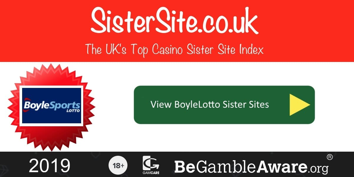 BoyleLotto Sister Sites