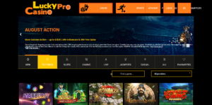 lucky pro casino sister sites