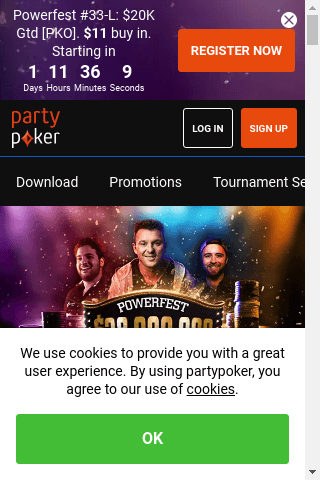 Party Poker Mobile Image