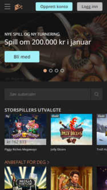 Storspiller mobile screenshot
