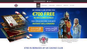 club uk casino desktop screenshot