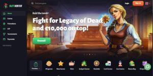 slot hunter casino desktop screenshot