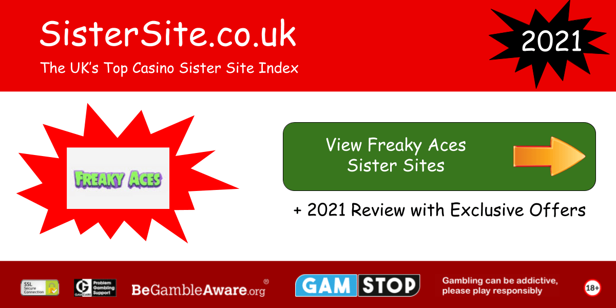 freaky aces sister sites 2021
