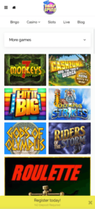 free daily spins mobile screenshot