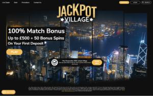 jackpot village laptop screenshot 2021