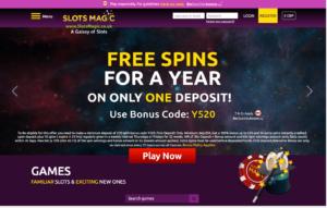 slots magic laptop screenshot 2021